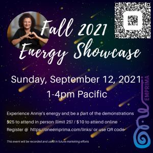 Fall 2021 Energy Showcase